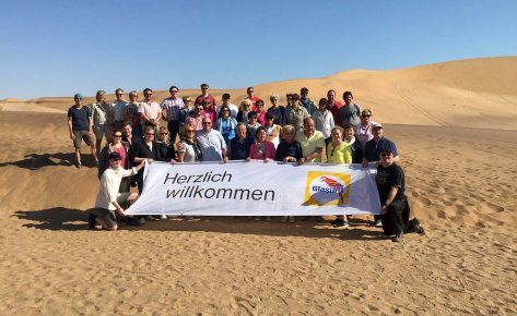 Customer Trip to Namibia