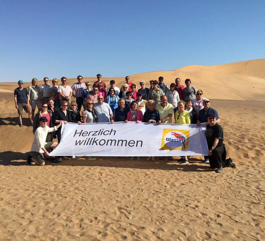 Customer Trip to Namibia