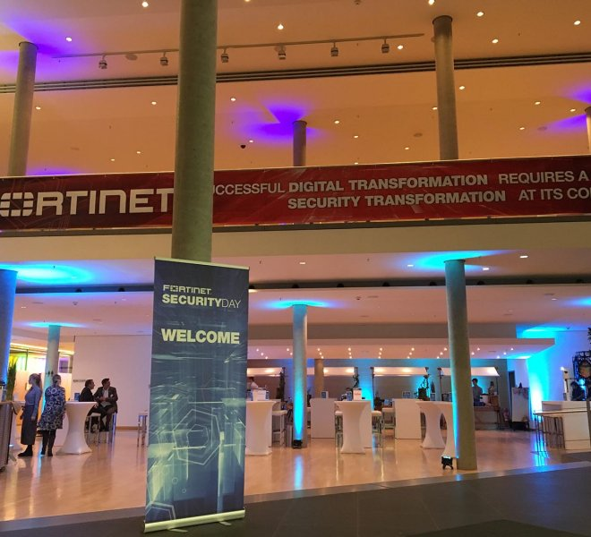 Event Header Fortinet