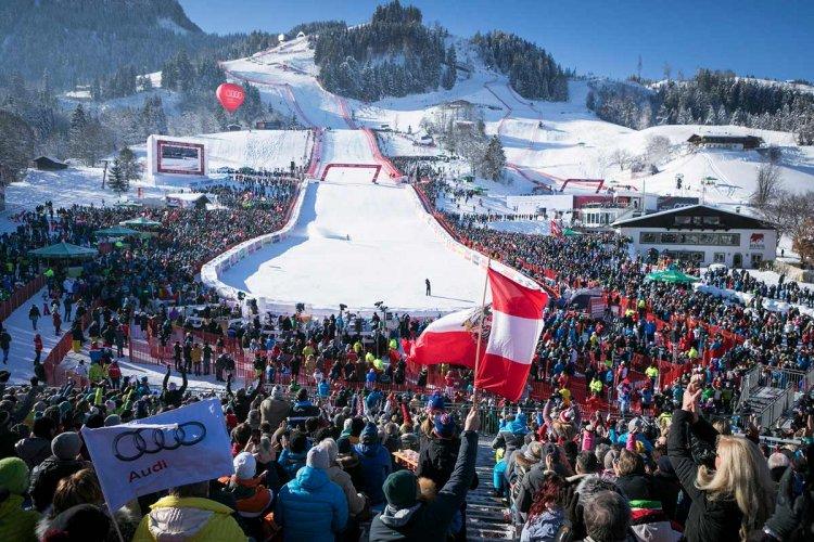 V.I.P. trip to the Hahnenkamm ski race