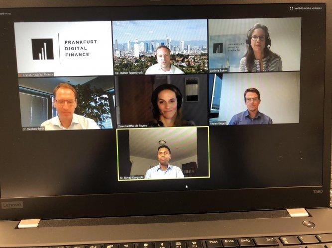 "Web-Panels for ""Frankfurt Digital Finance"""
