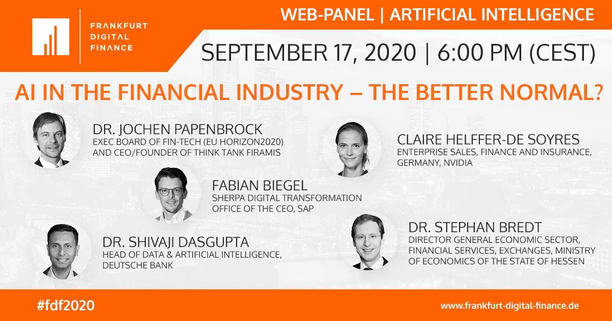 Frankfurt Digital Finance_WebPanel_Artificial Intelligence